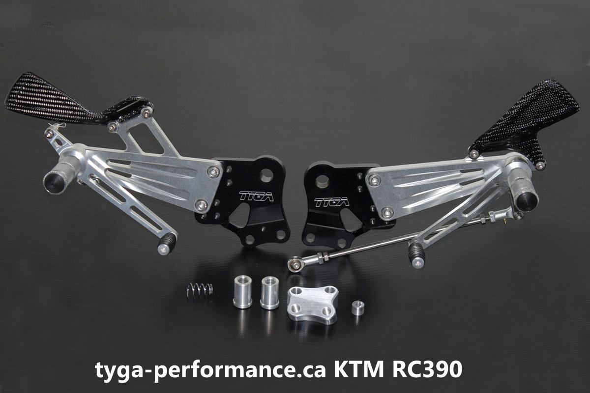Tyga Canada KTM Rear sets