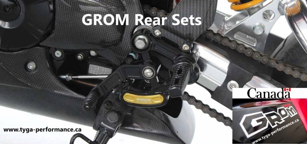 Grom RearSets