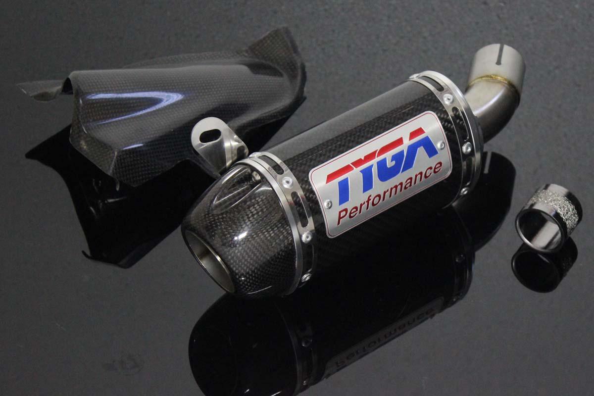 Yamaha R3 Carbon Exhaust