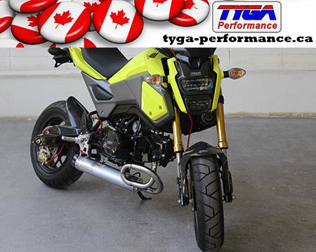 Tyga-Performance Long Grom Exhaust