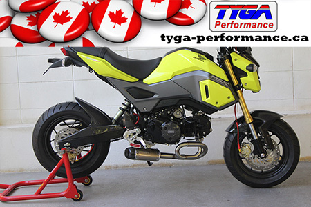 Tyga-Performance Grom Exhaust Shorty
