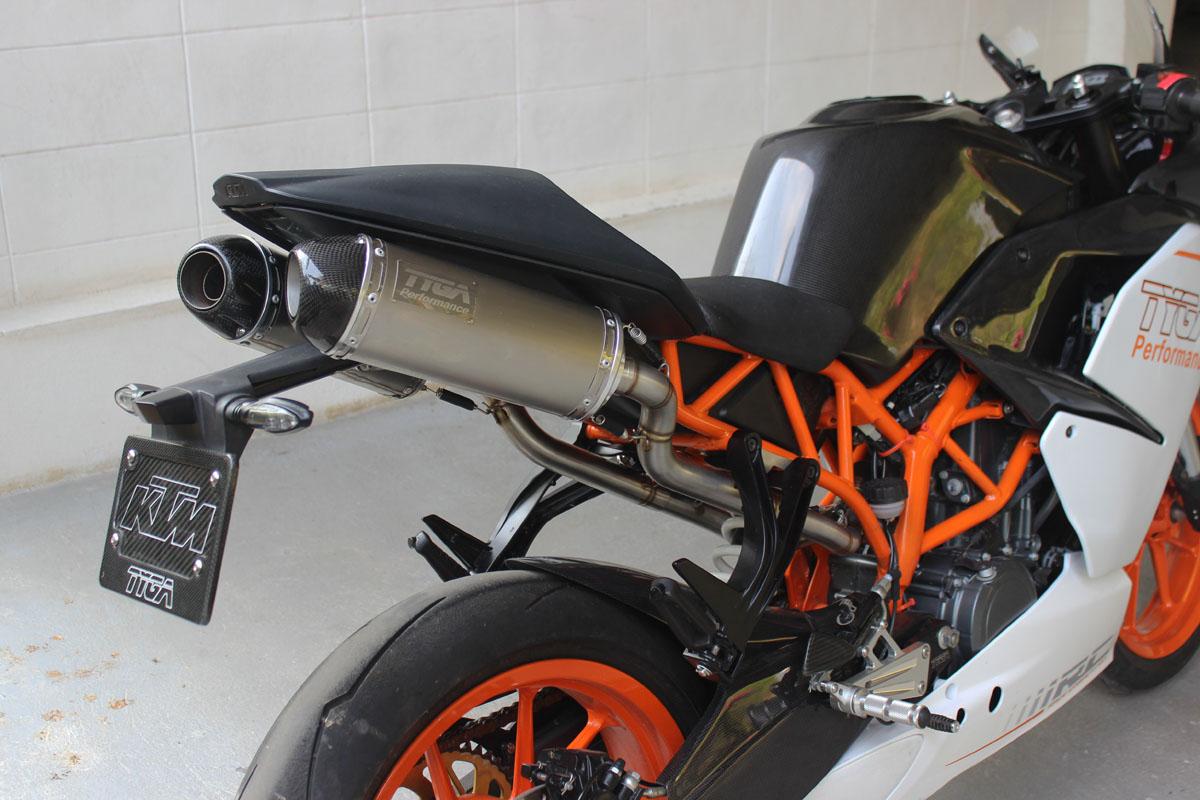 Tyga-Preformance KTM Exaust